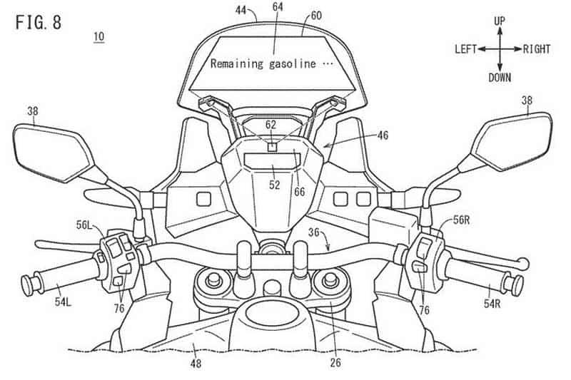 หน้าจอ TFT เก่าแล้ว! Honda พัฒนาจอแสดงผลแบบ Head-Up หน้าจอสัมผัสสำหรับรถจักรยานยนต์ | MOTOWISH 1