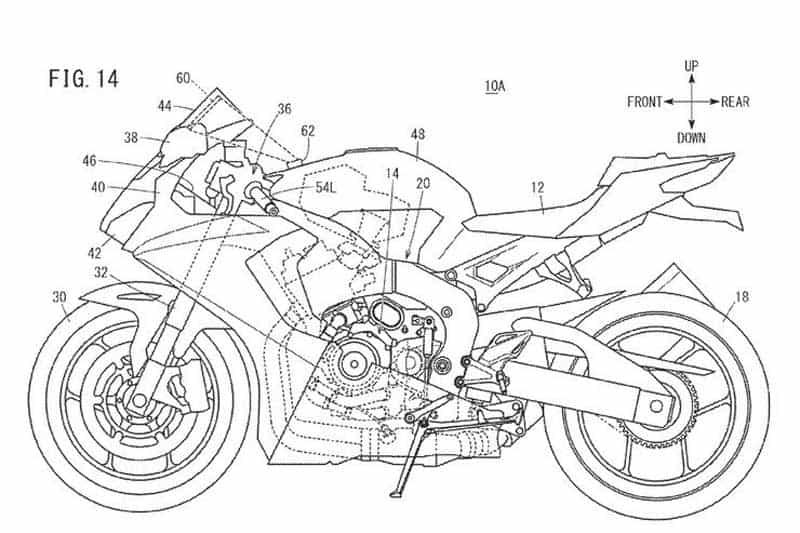 หน้าจอ TFT เก่าแล้ว! Honda พัฒนาจอแสดงผลแบบ Head-Up หน้าจอสัมผัสสำหรับรถจักรยานยนต์ | MOTOWISH 2