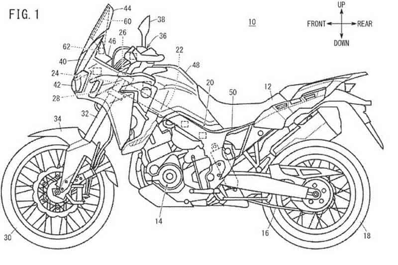 หน้าจอ TFT เก่าแล้ว! Honda พัฒนาจอแสดงผลแบบ Head-Up หน้าจอสัมผัสสำหรับรถจักรยานยนต์ | MOTOWISH 3
