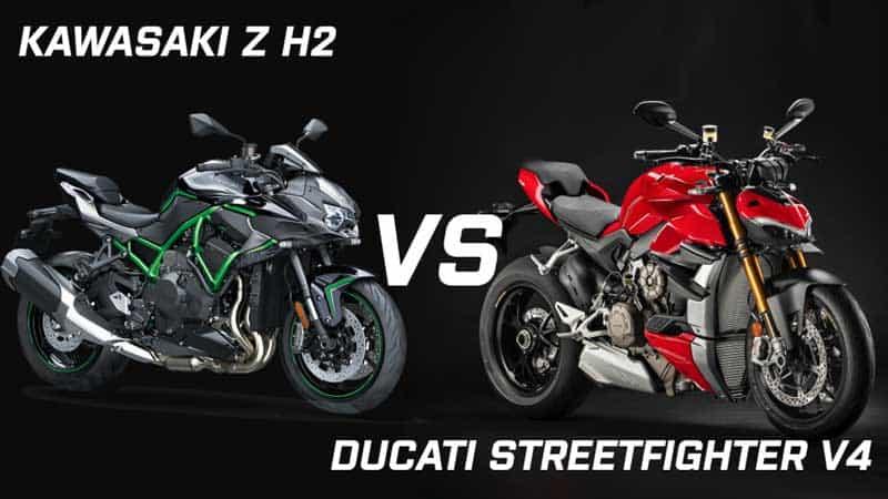 เปรียบเทียบสเปค Kawasaki Z H2  VS Ducati Streetfighter V4 | MOTOWISH 7