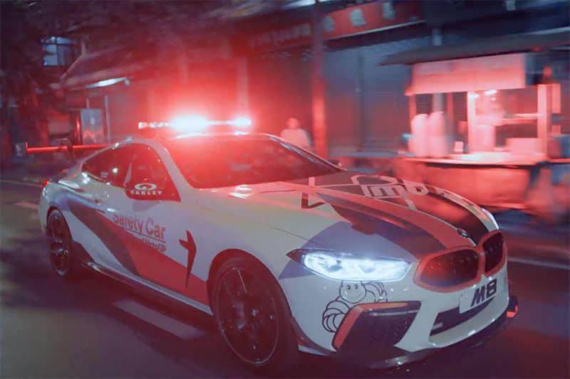 สนั่นเมือง!! BMW M8 MotoGP Safety Car ควงคู่ BMW S1000RR MotoGP Safety Bike ลงซ่าส์ ถนนเมืองไทย | MOTOWISH 2