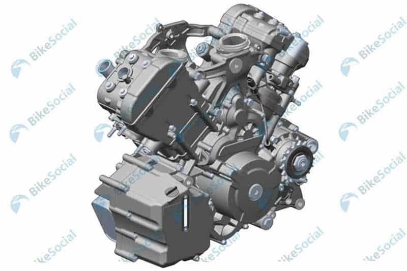 เปิดภาพสิทธิบัตร CFMoto รถทัวริ่งเครื่องยนต์ 1,250 ซีซี V-Twin จากแดนมังกร | MOTOWISH 1