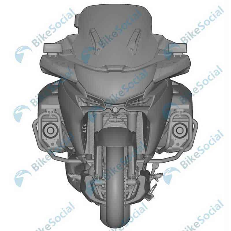 เปิดภาพสิทธิบัตร CFMoto รถทัวริ่งเครื่องยนต์ 1,250 ซีซี V-Twin จากแดนมังกร | MOTOWISH 2
