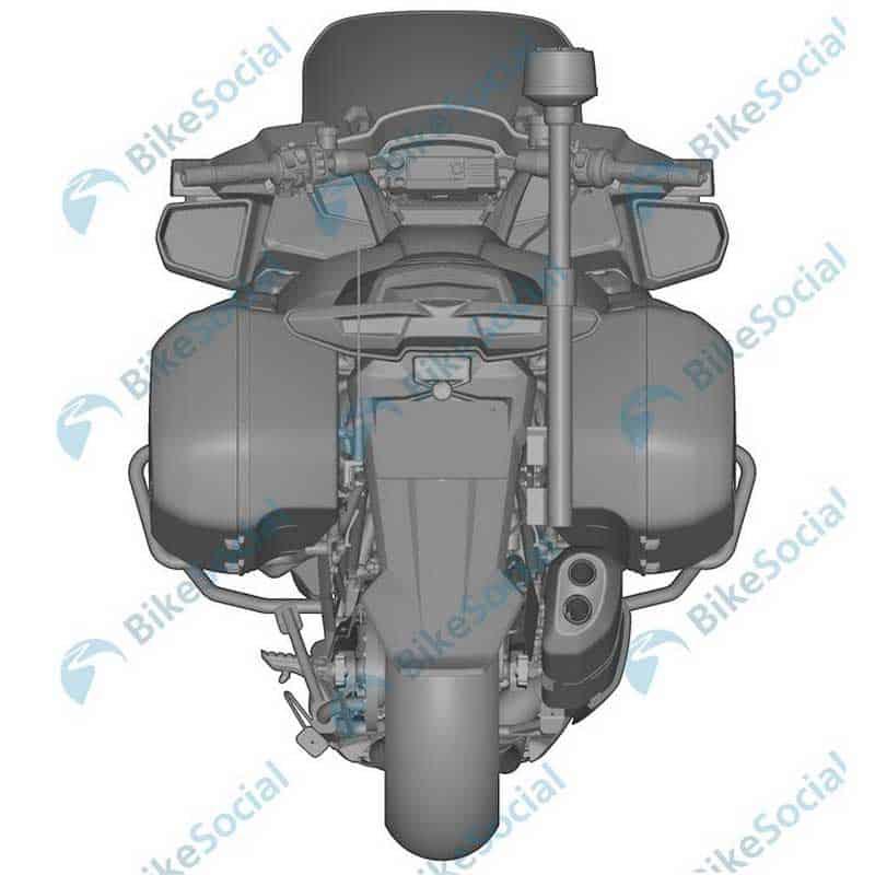 เปิดภาพสิทธิบัตร CFMoto รถทัวริ่งเครื่องยนต์ 1,250 ซีซี V-Twin จากแดนมังกร | MOTOWISH 4