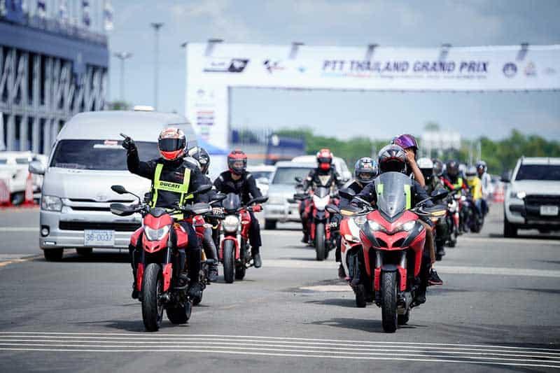 ดูคาติไทยแลนด์ ต้อนรับแฟนพันธุ์แท้จากทั่วโลก ยกความเอ็กซ์คลูซีฟ มอบประสบการณ์ความมันส์ใน MotoGP 2019 | MOTOWISH 4