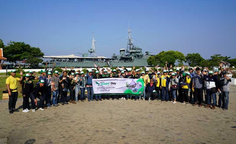 Kawasaki Green Day คาวาซากิชวนลูกค้าทำดีเพื่อถวายในหลวง   MOTOWISH 4