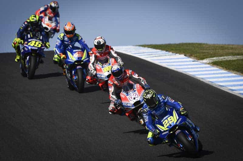 โปรแกรมเวลาพร้อมลิงค์ ถ่ายทอดสดการแข่งขัน MotoGP 2019 สนามที่ 17 AustralianGP | MOTOWISH