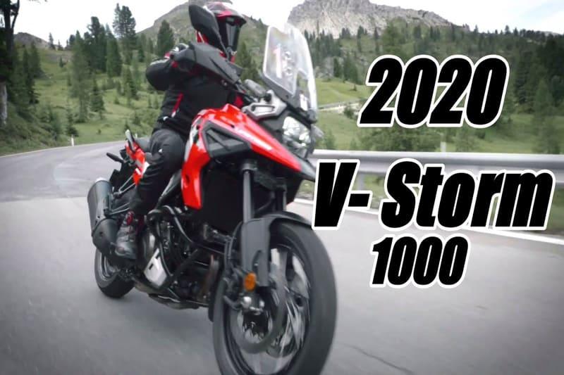 """Suzuki ปล่อยทีเซอร์เห็นเต็มตาแบบไม่กั๊ก มาแน่ """"V-Strom 1000 2020""""   MOTOWISH 1"""