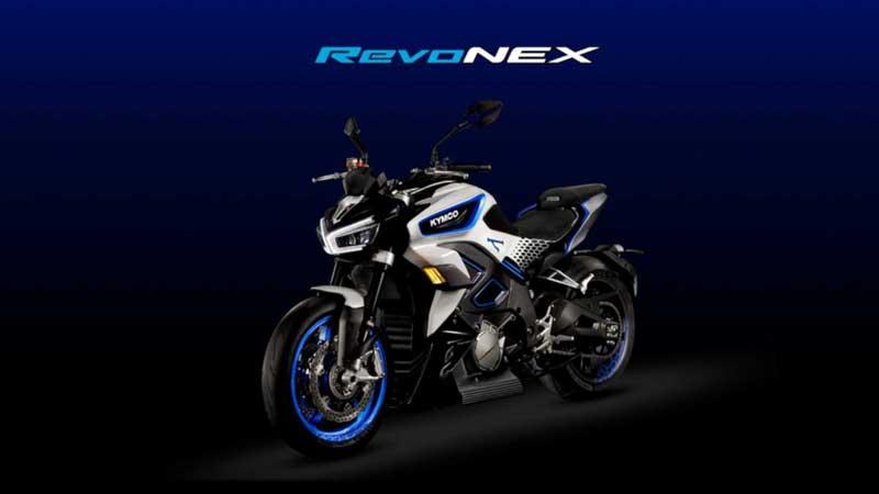 Kymco RevoNEX เน็คเก็ตไบค์ไฟฟ้า เตรียมเปิดตัวปี 2020 มาพร้อมเกียร์ และโหมดปรับความดังเสียงเครื่องยนต์ | MOTOWISH 1