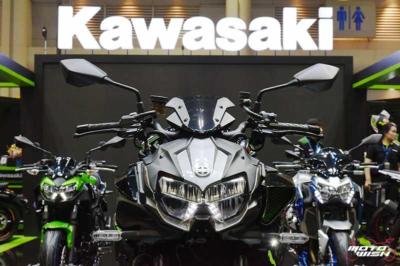 เจาะลึก Kawasaki Z H2 เน็คเก็ตไบค์สายพันธุ์ซูเปอร์ชาร์จ เปิดตัวแล้วในไทย ราคาไม่ถึงล้าน | MOTOWISH 9