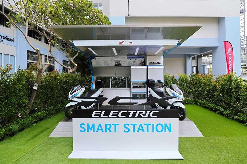 เอ.พี. ฮอนด้า ยกระดับด้านรถจักรยานยนต์ไฟฟ้า เปิดตัว PCX Electric Smart Station ศึกษารูปแบบ EV Sharing ครั้งแรกในไทย | MOTOWISH 1