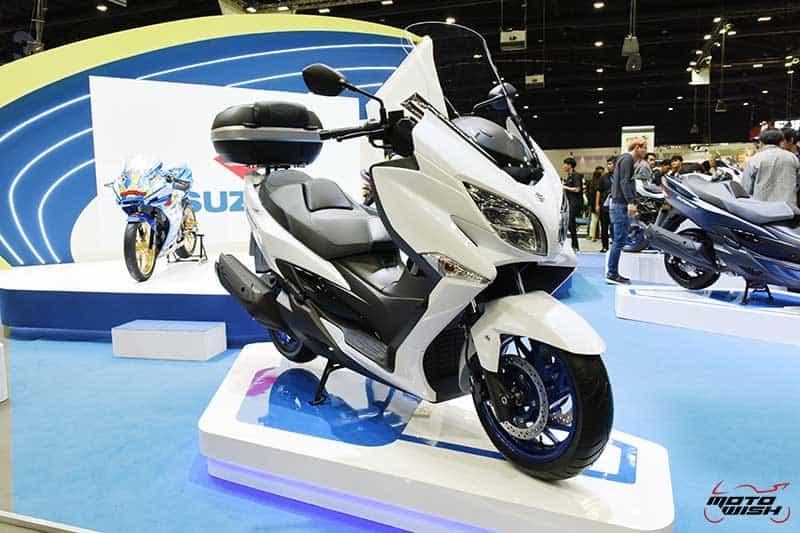 Suzuki เปิดตัว Burgman 400 2020 ราคาพิเศษ 100 คันแรก 1.99 แสน ในงาน Motor Expo 2019   MOTOWISH 4