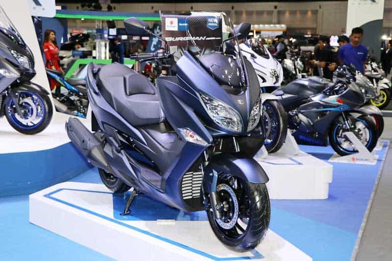 Suzuki เปิดตัว Burgman 400 2020 ราคาพิเศษ 100 คันแรก 1.99 แสน ในงาน Motor Expo 2019   MOTOWISH 3