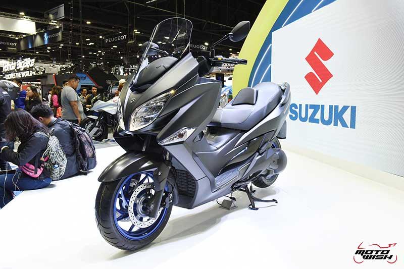 Suzuki เปิดตัว Burgman 400 2020 ราคาพิเศษ 100 คันแรก 1.99 แสน ในงาน Motor Expo 2019   MOTOWISH 2