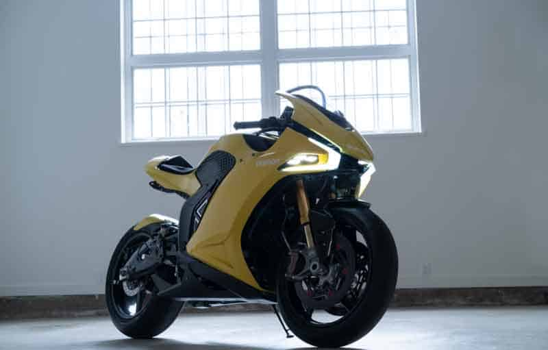 Damon Hypersport รถจักรยานยนต์ไฟฟ้าสไตล์สปอร์ต แรงบัลดาลใจจาก Ducati Panigale | MOTOWISH 1