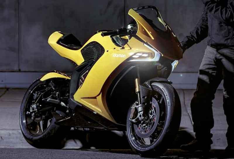 Damon Hypersport รถจักรยานยนต์ไฟฟ้าสไตล์สปอร์ต แรงบัลดาลใจจาก Ducati Panigale | MOTOWISH 2