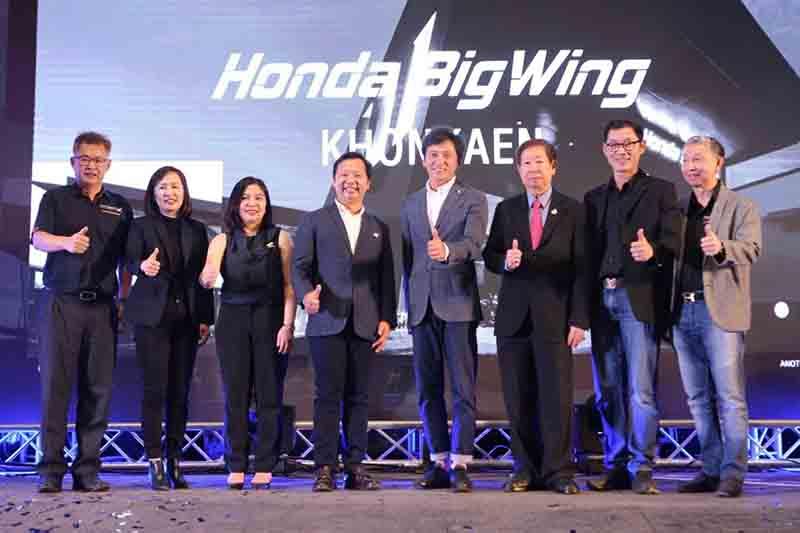 "Honda BigWing บุกขอนแก่น เปิดตัวโชว์รูม และศูนย์บริการแห่งใหม่ ส่งมอบประสบการณ์ ""Excites the World"" | MOTOWISH 1"