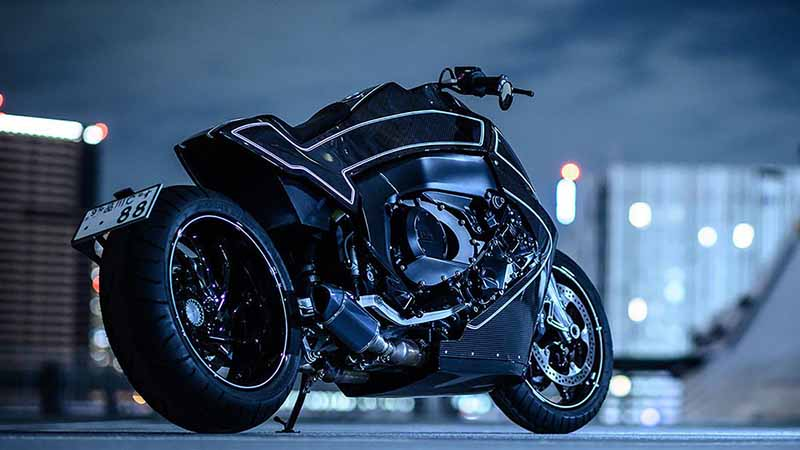"Custom Works Zon อู่ชื่อดังฝั่งญี่ปุ่น แปลงโฉมหนุ่มยุโรป BMW K1600 B เป็น ""อีกาล่องหน"" | MOTOWISH 1"