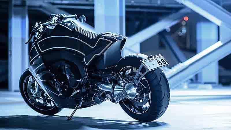"Custom Works Zon อู่ชื่อดังฝั่งญี่ปุ่น แปลงโฉมหนุ่มยุโรป BMW K1600 B เป็น ""อีกาล่องหน"" | MOTOWISH 3"