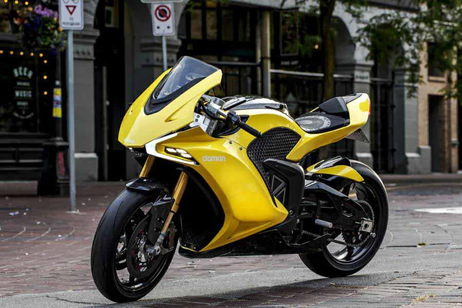 เปิดตัว Damon Hypersport Pro สุดยอดรถสปอร์ตไบค์ไฟฟ้า ขุมพลัง 200 แรงม้า แรงไร้ที่ติ   MOTOWISH 1