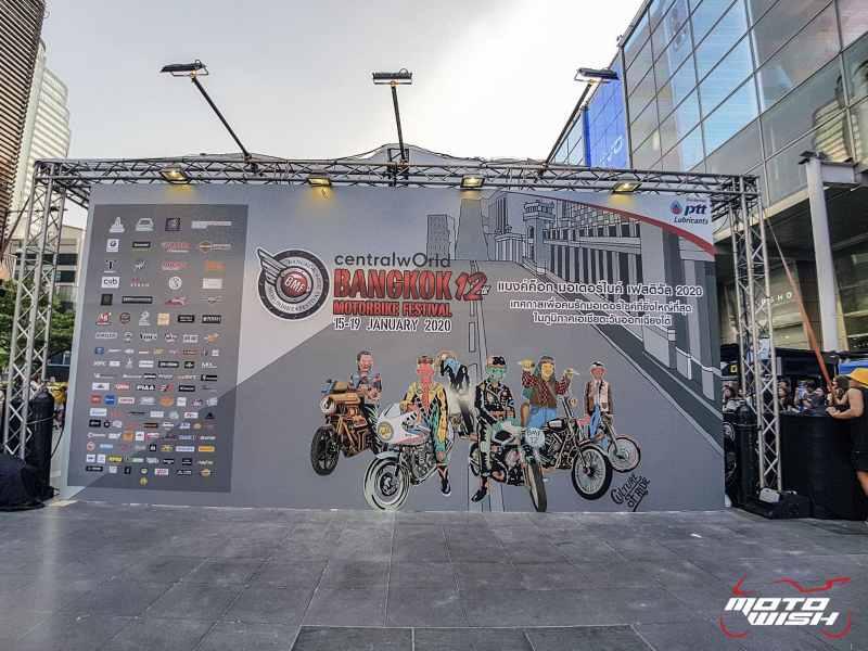 พาชมบรรยากาศงาน Bangkok Custom Bike Competition 2020 ศูนย์การค้า เซ็นทรัล เวิลด์ | MOTOWISH 13