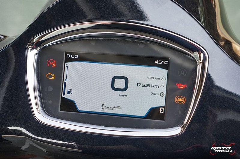 รีวิว VESPA GTS SUPER TECH 300 ABS เครื่องยนต์ทรงสมรรถนะ ผสานเทคโนโลยีสุดล้ำ พร้อมตอบโจทย์ไลฟ์สไตล์คนรุ่นใหม่   MOTOWISH 25