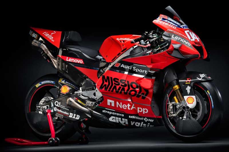 Ducati Mission Winnow MotoGP เปิดตัวทีมแข่งเจ้าแรก ส่งเครื่องจักร Desmosedici GP20 ลงล่าแชมป์โลก | MOTOWISH 1