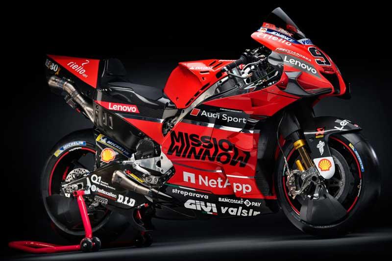 Ducati Mission Winnow MotoGP เปิดตัวทีมแข่งเจ้าแรก ส่งเครื่องจักร Desmosedici GP20 ลงล่าแชมป์โลก | MOTOWISH 2
