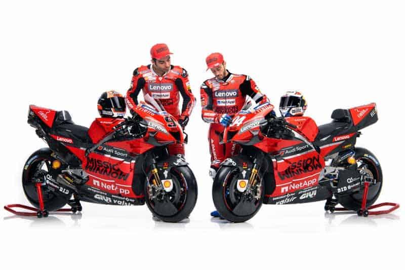 Ducati Mission Winnow MotoGP เปิดตัวทีมแข่งเจ้าแรก ส่งเครื่องจักร Desmosedici GP20 ลงล่าแชมป์โลก | MOTOWISH 21