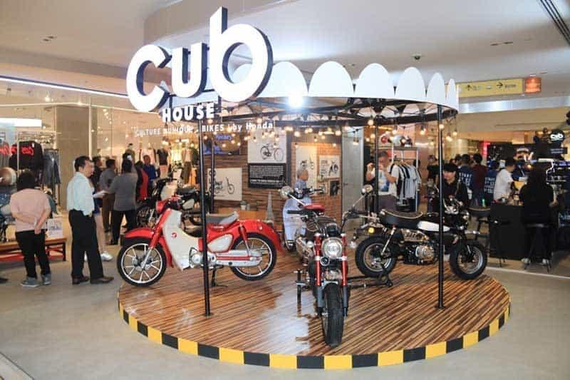 ฮอนด้า ยกบรรยากาศร้าน CUB House โชว์ไลฟ์สไตล์-รถแต่งระดับตำนาน Monkey และ C125 ในงาน Bangkok Motorbike Festival 2020 | MOTOWISH 2