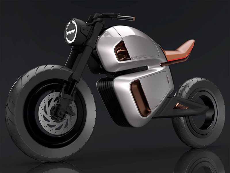 NAWA เปิดแนวคิดรถจักรยานยนต์ไฟฟ้าล้อไร้ดุม พร้อมเทคโนโลยีแบตเตอรี่ไฮบริดเจ้าแรกของโลก | MOTOWISH 1