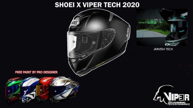 หมวกกันน็อคไฮเทค SHOEI X Viper Tech 2020 เสียเงิน 150,000 บาท ได้อะไรบ้าง!! | MOTOWISH 3
