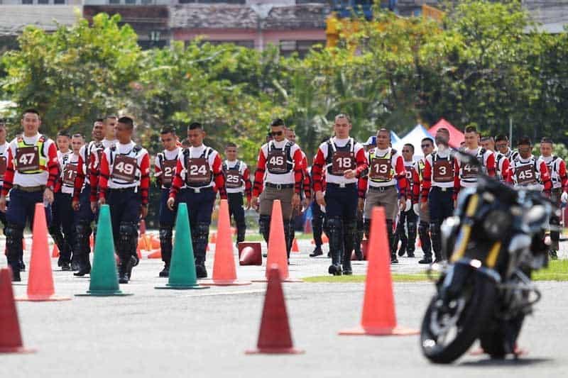 เอ.พี. ฮอนด้า ประกาศผลการแข่งขันทักษะขับขี่ปลอดภัย เจ้าหน้าที่ตำรวจระดับประเทศ ครั้งที่ 3 | MOTOWISH 4