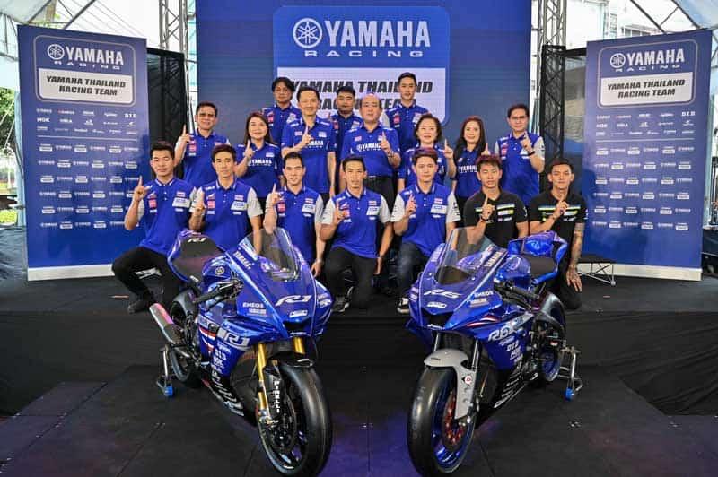 ยามาฮ่าจัดทัพแกร่ง เตรียมขุนพลนักบิดลุยศึกแข่งขันจักรยานยนต์ทางเรียบในประเทศ และต่างประเทศ | MOTOWISH 2