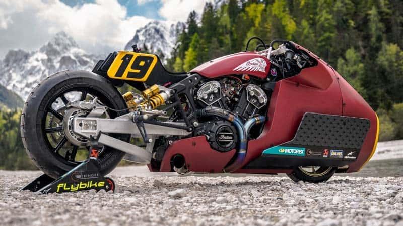 Indian Motorcycle เปิดตัว Appaloosa V2.0 ใช้สู้ศึกดวลความเร็วทางตรงบนธารน้ำแข็ง | MOTOWISH 1