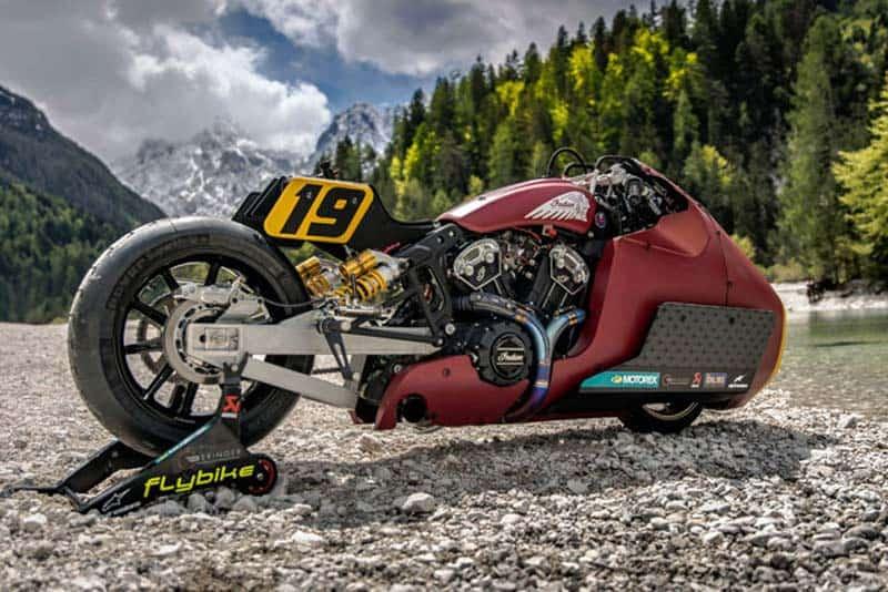 Indian Motorcycle เปิดตัว Appaloosa V2.0 ใช้สู้ศึกดวลความเร็วทางตรงบนธารน้ำแข็ง | MOTOWISH 2