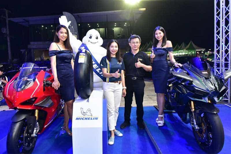 มิชลิน พาวเวอร์ สลิค อีโว ยางสำหรับการขี่แบบแทร็กเดย์โดยเฉพาะ เทคโนโลยีจากรถแข่ง MotoGP | MOTOWISH 12