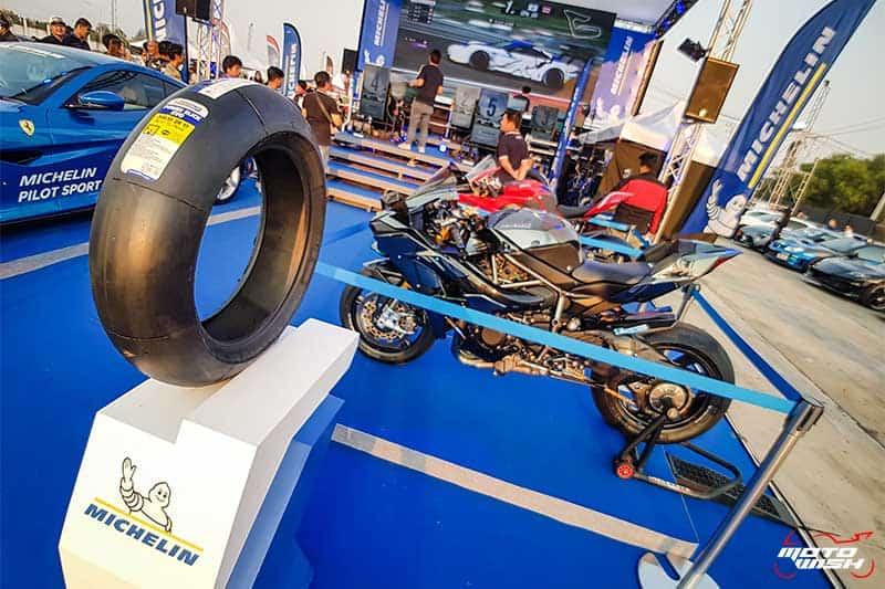 มิชลิน พาวเวอร์ สลิค อีโว ยางสำหรับการขี่แบบแทร็กเดย์โดยเฉพาะ เทคโนโลยีจากรถแข่ง MotoGP | MOTOWISH 1