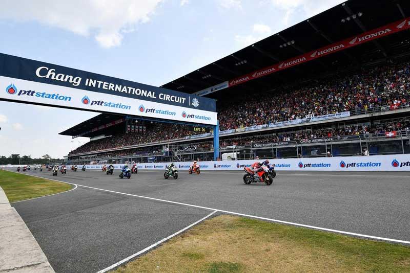 รัฐบาลไทยและฝ่ายจัด MotoGP คอนเฟิร์มอย่างเป็นทางการ ThaiGP ไม่ยกเลิกแน่นอน | MOTOWISH 1