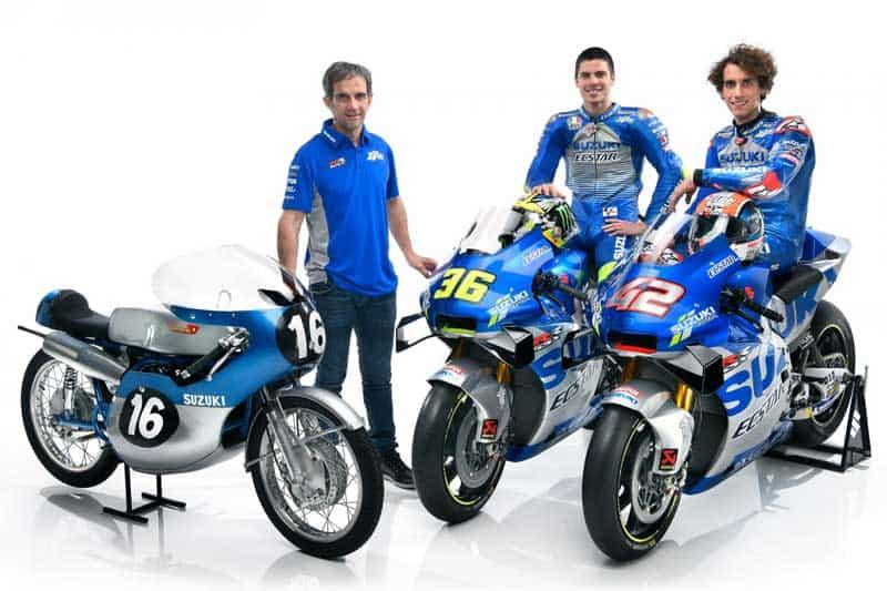 Suzuki เปิดตัวทีมแข่ง MotoGP พร้อมเฉลิมฉลองครบรอบ 60 ปี ด้วยลายตัวแข่ง GSX-RR ย้อนยุค | MOTOWISH 1