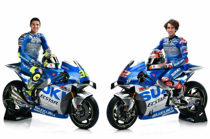 Suzuki เปิดตัวทีมแข่ง MotoGP พร้อมเฉลิมฉลองครบรอบ 60 ปี ด้วยลายตัวแข่ง GSX-RR ย้อนยุค | MOTOWISH 3