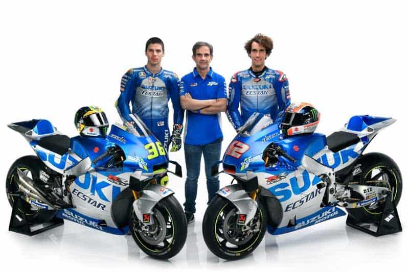 Suzuki เปิดตัวทีมแข่ง MotoGP พร้อมเฉลิมฉลองครบรอบ 60 ปี ด้วยลายตัวแข่ง GSX-RR ย้อนยุค | MOTOWISH 4