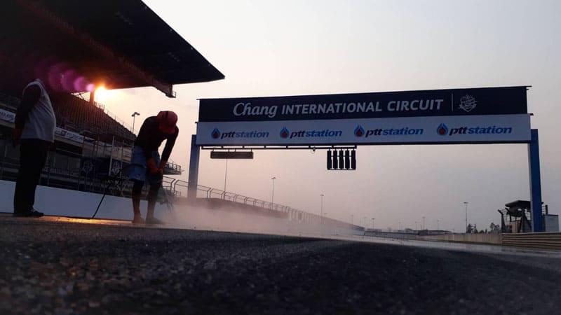 สนามช้างฯ ไม่หยุดปรับปรุงสนาม แม้ OR Thailand Grand Prix 2020 เลื่อนไม่มีกำหนด | MOTOWISH