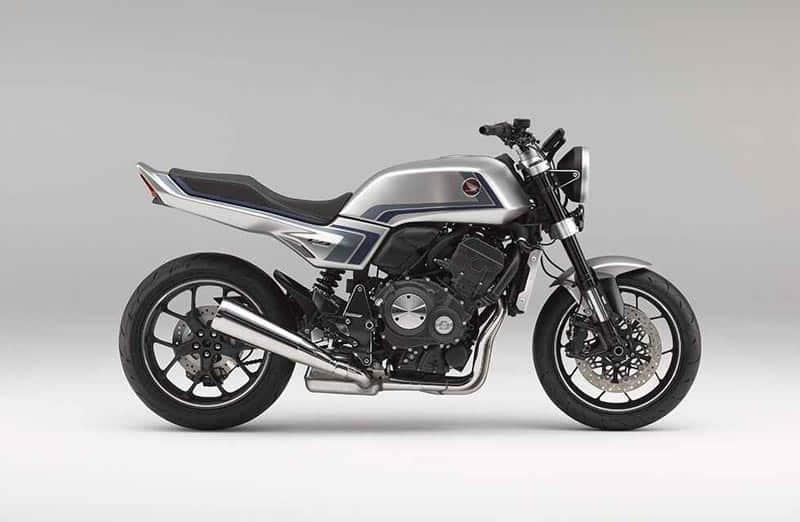 เผยแนวคิด Honda CB-F สไตล์เรโทร-โมเดิร์น