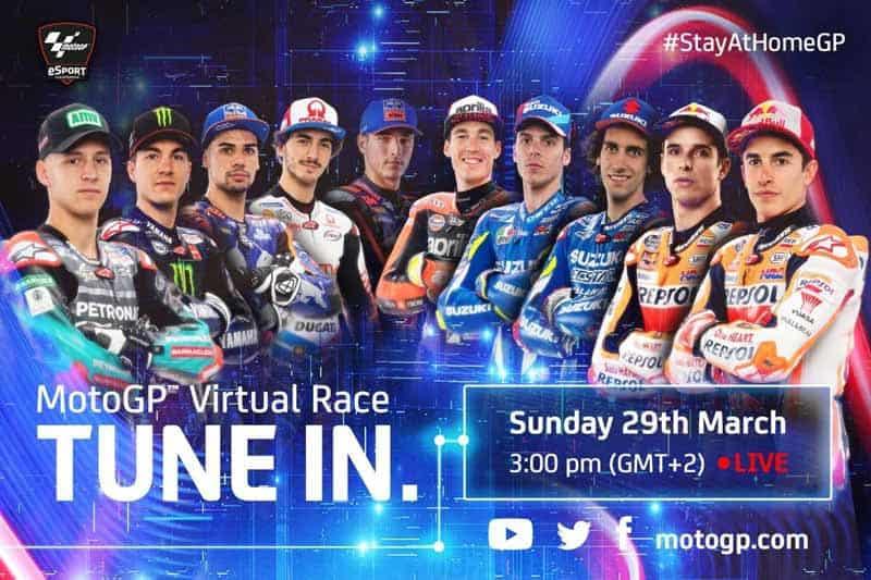 MotoGP จัดแข่ง eSport นักแข่งบิ๊กเนมเข้าร่วมคับคั่ง