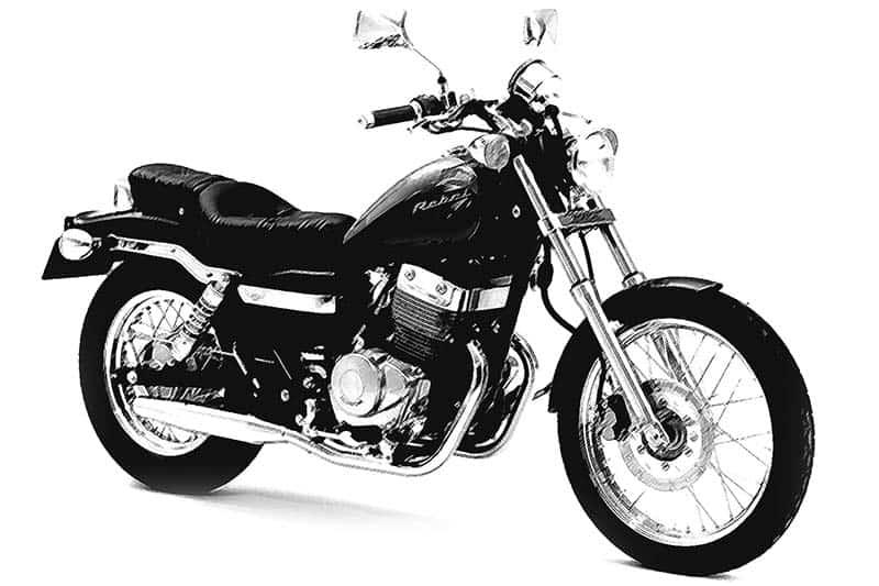 old Honda Rebel