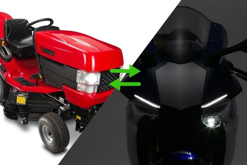 Yamaha R1 Engine Transfer to Mower