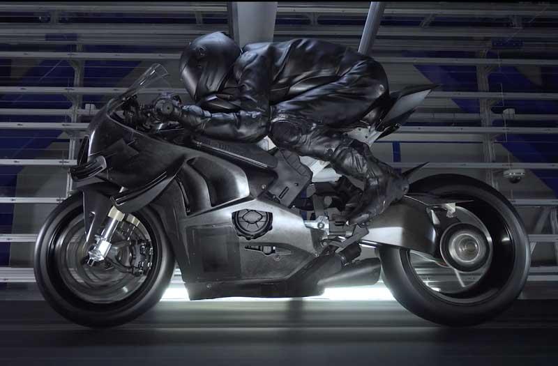 ชมคลิปใช้ผงเรืองแสงทดสอบ Ducati Superleggera V4