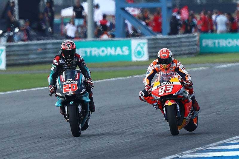 """ย้อนหลังการแข่งขัน MotoGP 2019 สนามที่ 15 ThaiGP รำลึกความหลัง """"มาร์คเกซ"""" คว้าแชมป์โลก"""