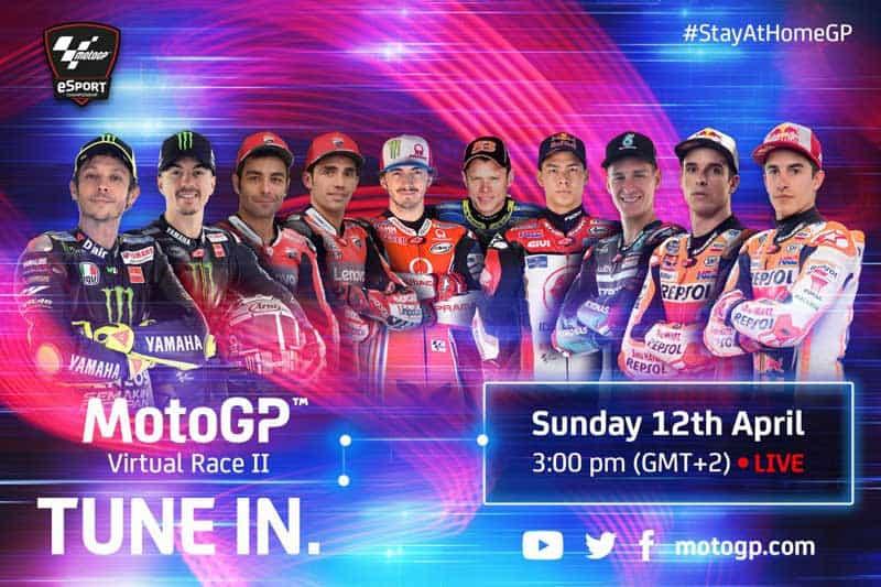"""MotoGP Virtual Race แข่งอยู่บ้านครั้งที่ 2 """"รอสซี่"""" ยอมเข้าร่วม"""